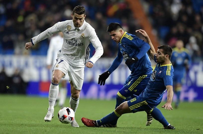 Cristiano Ronaldo nie pomógł drużynie w meczu z Celtą. Jak będzie w sobotę? /AFP