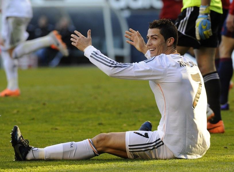 Cristiano Ronaldo nie strzelił gola w Pampelunie /AFP