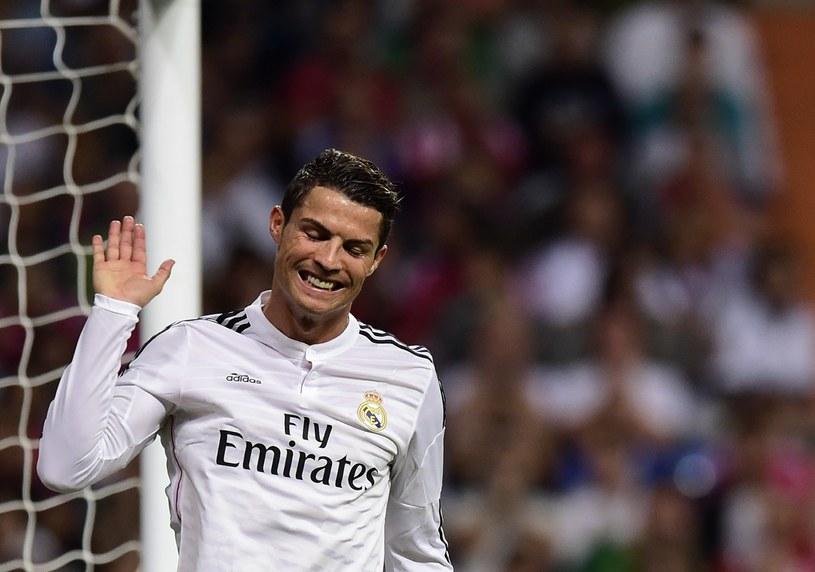 Cristiano Ronaldo pakuje gola za golem. /AFP