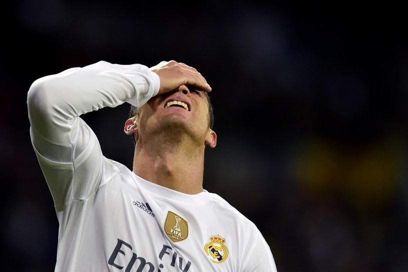 Cristiano Ronaldo po porażce z Barcelooną 0-4 /AFP