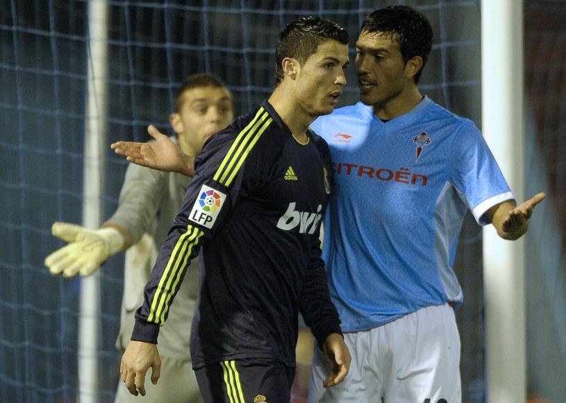 Cristiano Ronaldo podczas pucharowego meczu z Celtą Vigo /AFP