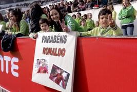 Cristiano Ronaldo skromnie obchodził swoje 28. urodziny podczas zgrupowania kadry w Portugalii