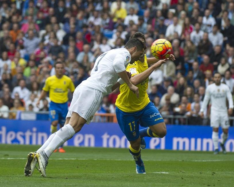 Cristiano Ronaldo strzela gola Las Palmas /AFP
