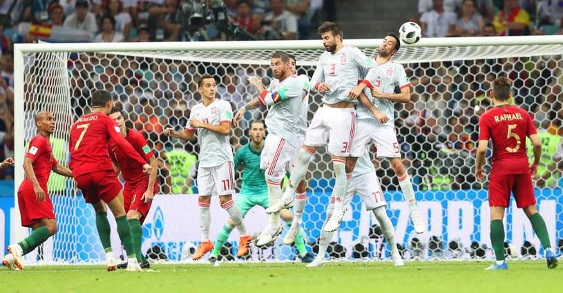 Portugalia Hiszpania   Cristiano Ronaldo Show