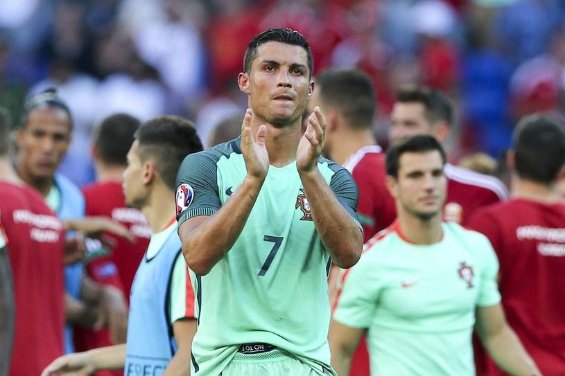 Cristiano Ronaldo strzelił dwa gole, ale to nie wystarczyło /PAP/EPA