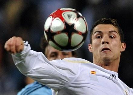 Cristiano Ronaldo strzelił dwa gole dla Realu w meczu z Olympique Marsylia (3:1). /AFP