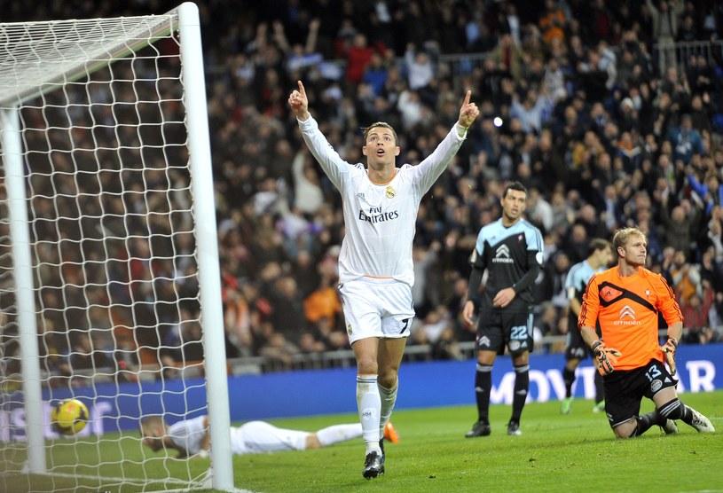 Cristiano Ronaldo strzelił dwa gole w meczu z Celtą Vigo /AFP