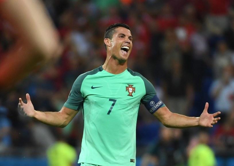 Cristiano Ronaldo strzelił gola i zaliczył asystę w półfinale z Walią /PAP/EPA