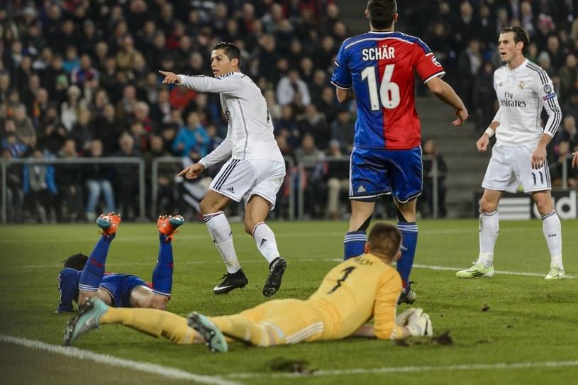 Cristiano Ronaldo strzelił jedynego gola w meczu z FC Basel /AFP