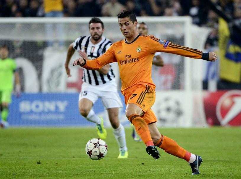 Cristiano Ronaldo strzelił ósmego gola w tej edycji Ligi Mistrzów /AFP