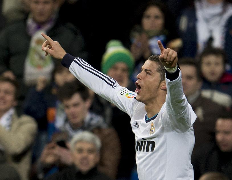 Cristiano Ronaldo strzelił trzy bramki w meczu z Sevillą /AFP