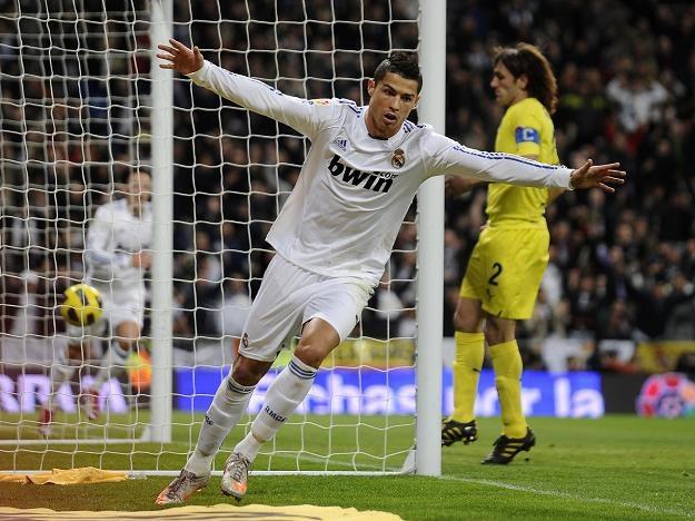 Cristiano Ronaldo strzelił trzy gole w meczu z Villarreal /AFP
