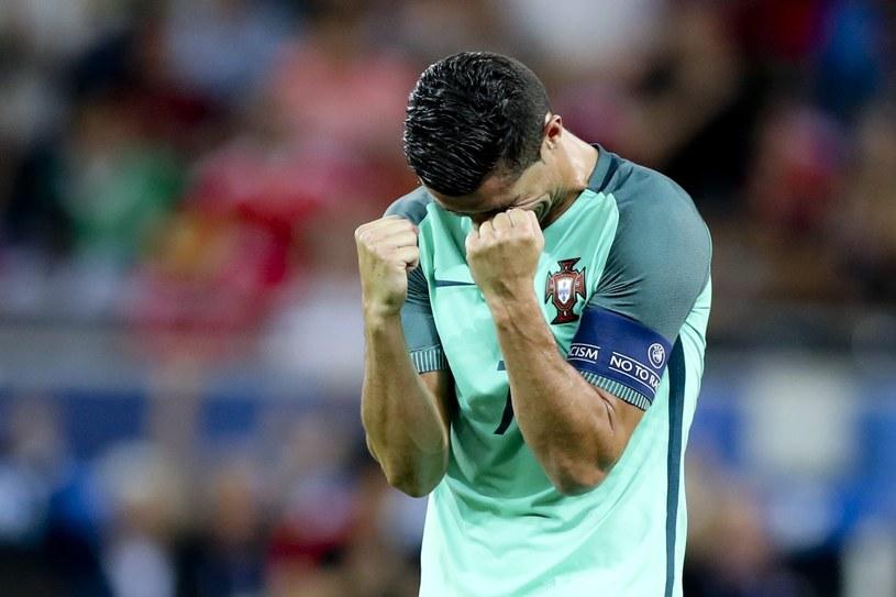 Cristiano Ronaldo świętuje awans do finału Euro 2016 /PAP/EPA
