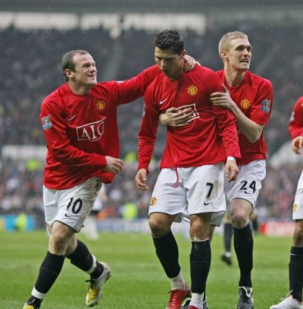 Cristiano Ronaldo to skarb Manchesteru United. /AFP