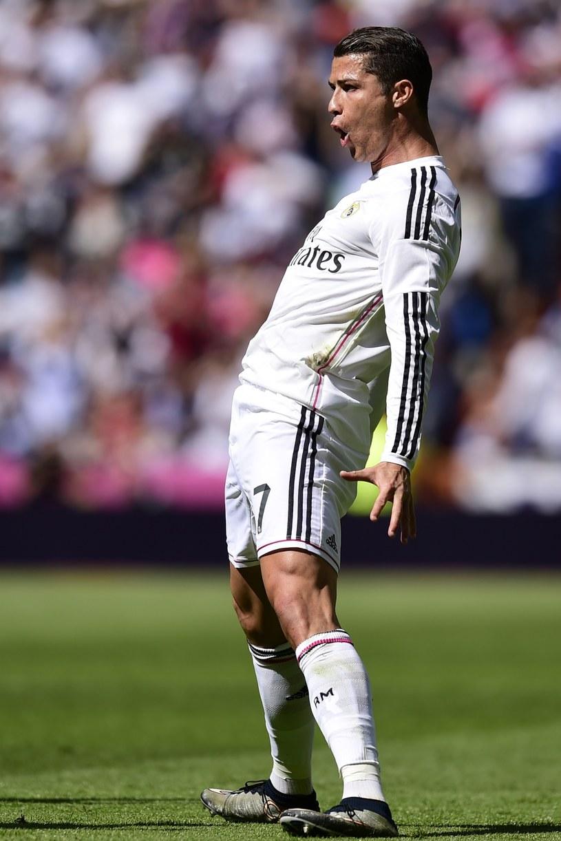 Cristiano Ronaldo triumfuje po golu /AFP