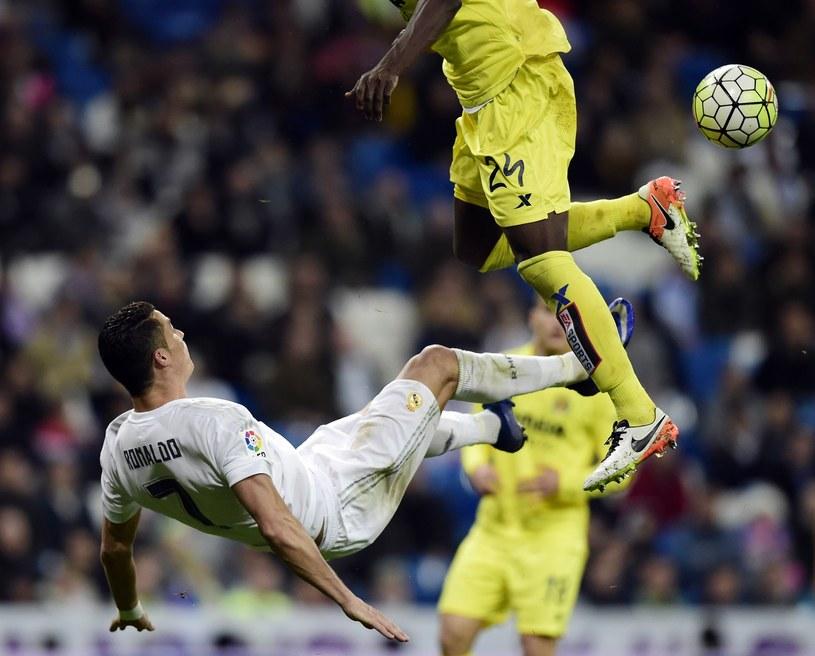 Cristiano Ronaldo ucierpiał w meczu z Villarrealem /AFP