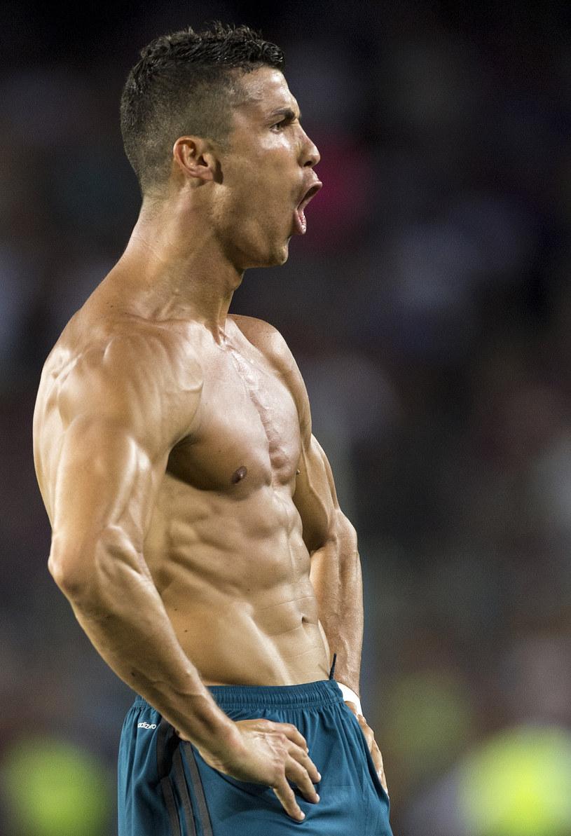 Cristiano Ronaldo w 2017 roku /STRINGER/AFP /AFP