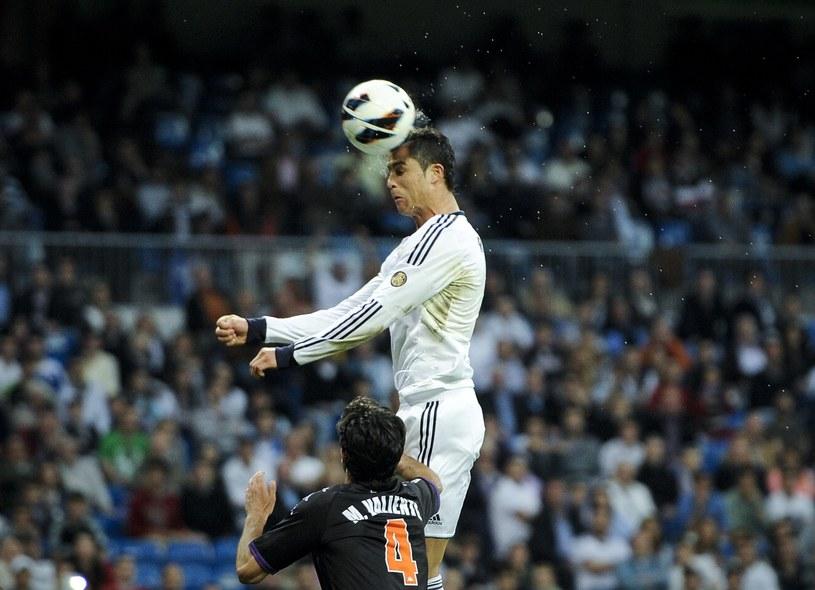 Cristiano Ronaldo w akcji /AFP