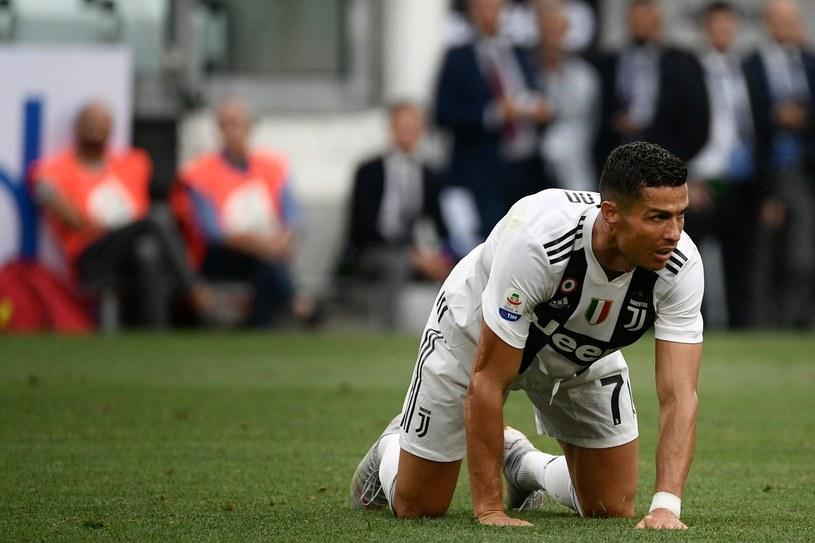 Cristiano Ronaldo w barwach Juventusu Turyn /AFP
