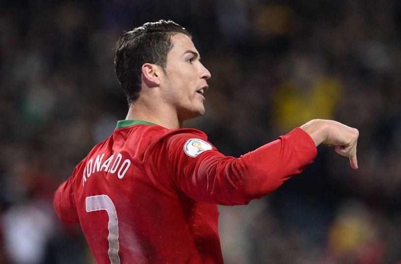 Cristiano Ronaldo w listopadzie walnie przyczynił się do awansu Portugalii na mundial /AFP