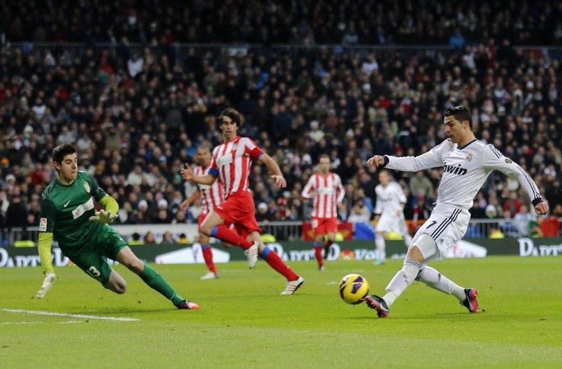 Cristiano Ronaldo w meczu derbowym zagrał znakomicie /AFP