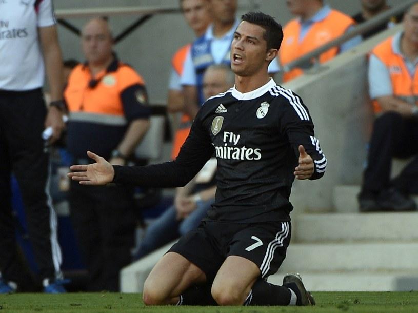 Cristiano Ronaldo w tarapatch /AFP