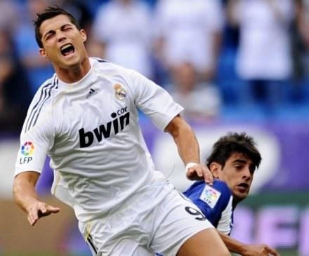 Cristiano Ronaldo wciąż nie może wrócić do gry /AFP