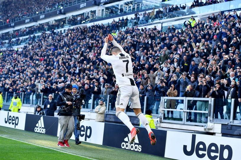 Cristiano Ronaldo z Juventusu Turyn /PAP/EPA