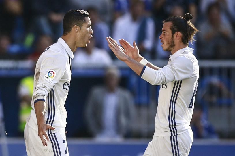 Cristiano Ronaldo (z lewej) i Gareth Bale z Realu Madryt /Gonzalo Arroyo Moreno /Getty Images