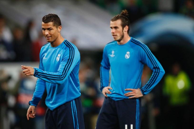 Cristiano Ronaldo (z lewej) i Gareth Bale /AFP