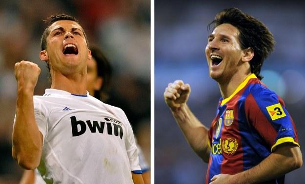Cristiano Ronaldo (z lewej) i Lionel Messi, czyli dzisiaj Real gra w Barcelonie /AFP
