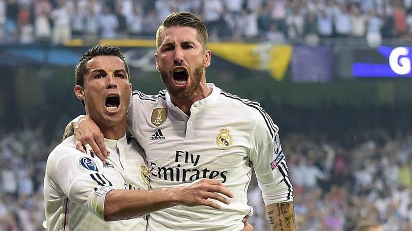 Cristiano Ronaldo (z lewej) i Sergio Ramos /AFP