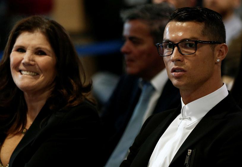 Cristiano Ronaldo z matką /AA/ABACA/EAST NEWS /East News