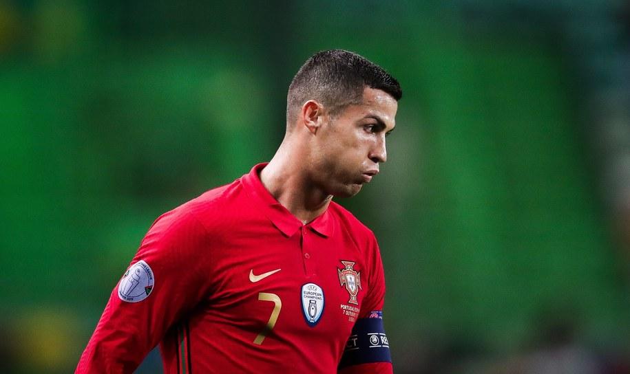 Cristiano Ronaldo zakażony koronawirusem /MARIO CRUZ /PAP/EPA