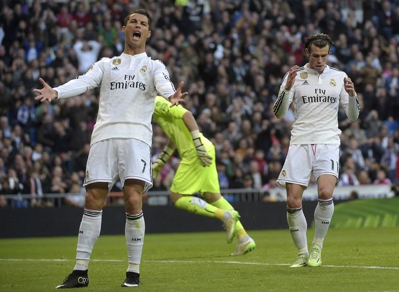 Cristiano Ronaldo zdenerwował się na Garetha Bale'a /AFP