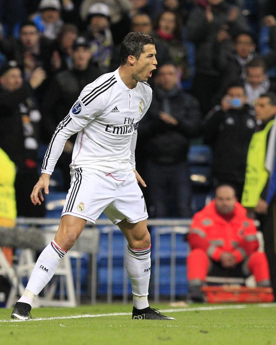Cristiano Ronaldo /Alberto Martin /PAP/EPA