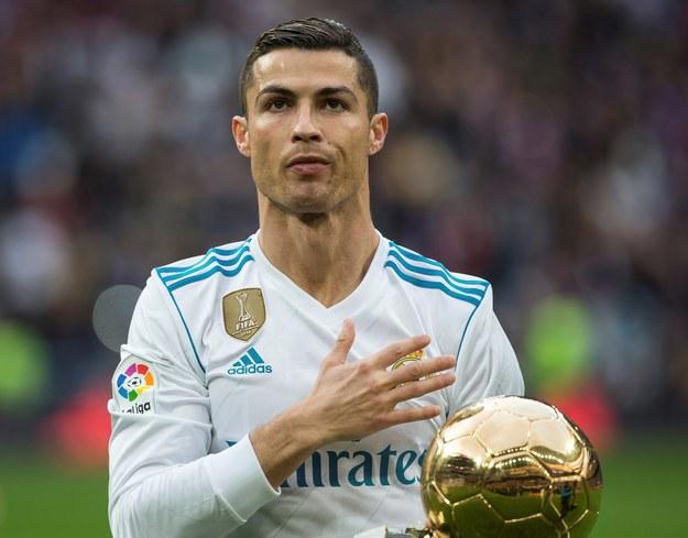 Cristiano Ronaldo /Rodrigo Jimenez /PAP/EPA