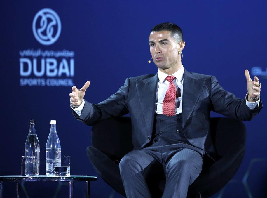 Cristiano Ronaldo /ALI HAIDER /PAP/EPA