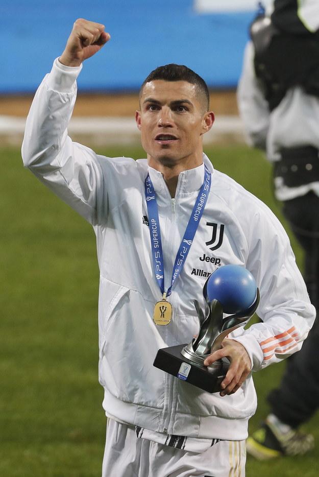 Cristiano Ronaldo /ELISABETTA BARACCHI /PAP/EPA