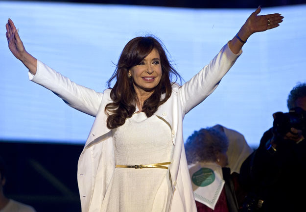 Cristina Fernandez de Kirchner ma własną teorię na temat śmierci Alberto Nismana fot. Alejandro Pagni /AFP
