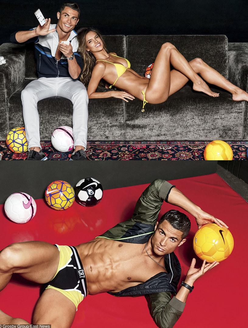 Cristinao Ronaldo i Alessandra Ambrosio /East News
