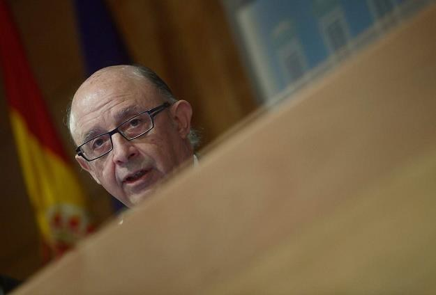 Cristobal Montoro, minister finansów Hiszpanii /AFP