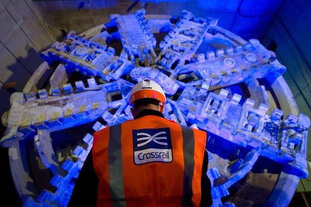 Crossrail - wiercenie tunelu 1000-tonową maszyną /AFP