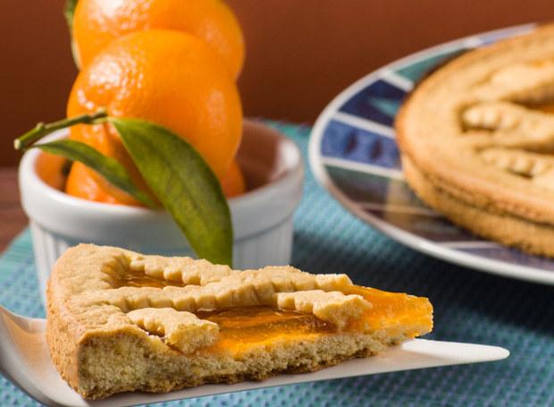 Crostata z pomarańczową konfiturą /123RF/PICSEL