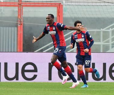 Crotone - Benevento 4-1 w meczu 18. kolejki Serie A. Samobójcze trafienie Glika