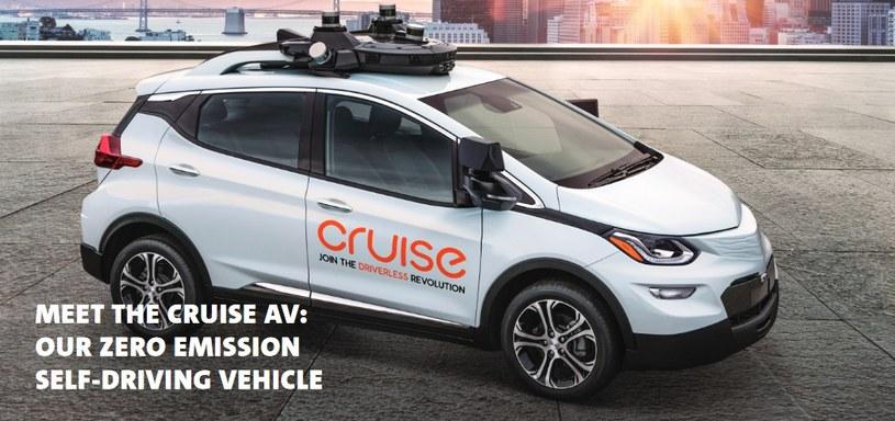 Cruise AV bazuje na platformie Chevroleta Bolt /materiały prasowe
