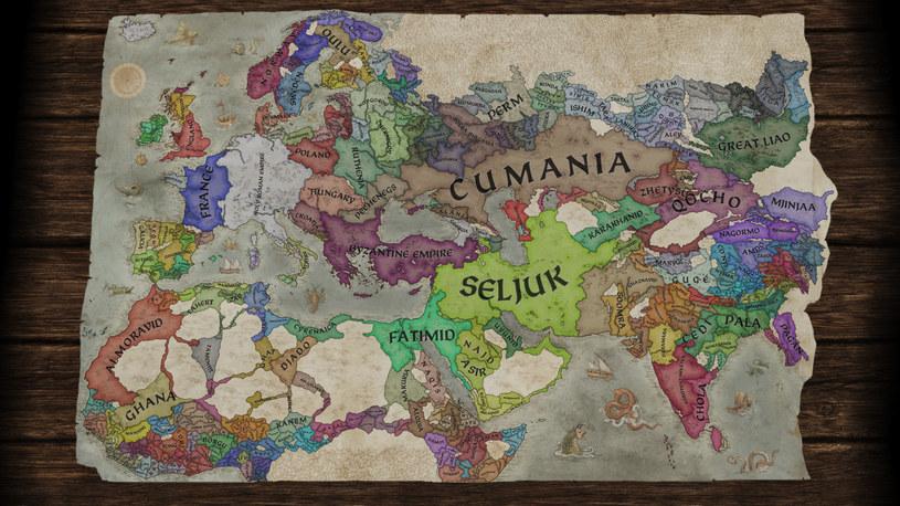 Crusader Kings III - Europa w 1066 roku /materiały prasowe