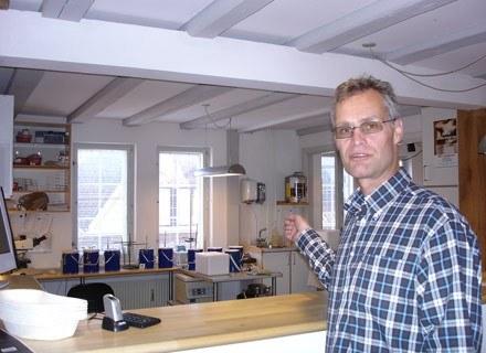 Cryos, pierwszy bank spermy na świecie. Aarhus (Dania), marzec 2003 /AFP