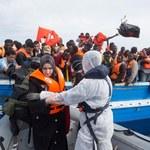 """""""Cud"""" na Morzu Śródziemnym. Urodził się na łodzi z migrantami"""