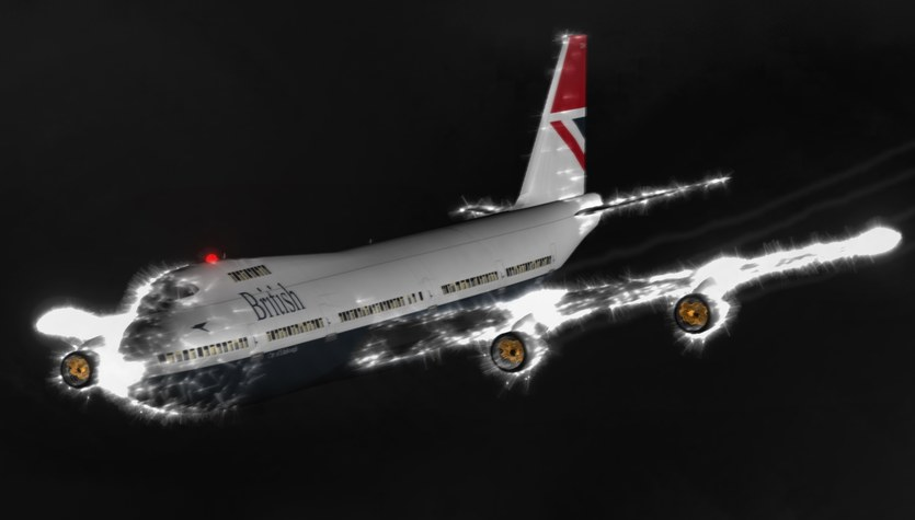 Cud w przestworzach, czyli historia lotu British Airways 9